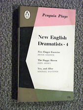 Penguin Play PL40 New English Dramatists 4 Peter Shaffer John Arden M.Hastings