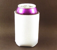 1000 Blank Premium Beverage Insulators/Can Coolers-White-Sublimation
