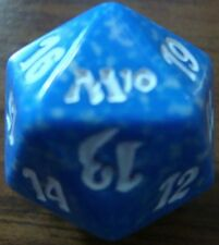MTG MAGIC 2010 M10 SPINDOWN LIFE COUNTER BLUE D20