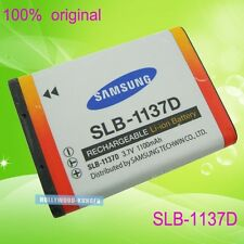 Genuine Original Samsung SLB-1137D Li-ion Battery for TL34HD NV100HD NV24HD NV40