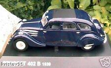 PEUGEOT 402 B 1939 NOREV BLEU FONCE 1/43 DARK BLUE NEW