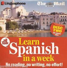 LEARN SPANISH IN A WEEK: DISC TWO (Mail On Sunday Audio CD)