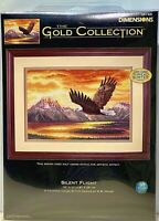 """Dimensions Gold Collection SILENT FLIGHT Counted Cross Stitch Kit 16""""x11"""" NEW"""