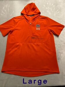 Auburn Tigers Team Issued Player Issued Under Armour Large Jacket Pullover