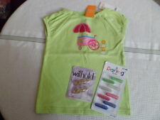 Gymboree Sweet Treats Bejeweled Green Shirt sz5 New w/Watch & Hair Accessories