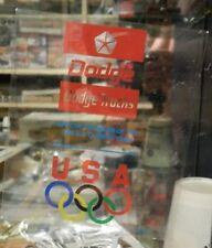 DODGE BOYS TRUCKS RAM NOS OLYMPIC 1992 STICKER DECAL USA U S TEAM MOPAR DEALER