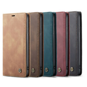 Premium Leather Magnetic Wallet Folding Phone Case For Xiaomi iphone13 12 Mini