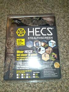 HECS Stealthscreen Camo Suit Size Large L Mossy Oak Break Up Country Pants Shirt