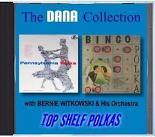 MZ 115 - Bernie Witkowski & His Orchestra - Top Shelf Polkas - POLKA CD