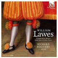 Richard Boothby - William Lawes: Complete Music For Solo Lyra Viol [CD]