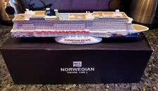 NCL Norwegian Cruise Line ESCAPE Cruise Ship Model (Slightly damaged)