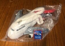 Qantas A380 Airplane Mini Carry Bag Cotton Polyester 34cm NEW UNOPENED