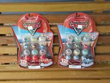 New SQUINKIES DISNEY CARS 2 SERIES 1 and 2 lot set 24 pieces 2010 blip toys