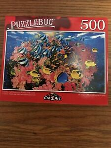 Puzzlebug 500 Pc Jigsaw CORAL FISH 18.25x11