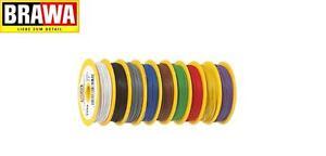Brawa 3152 Kabel Litze 0,14mm² einadrig, 25m-Ring, rot (1m - 0,18€) NEU + OVP