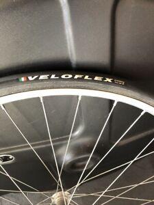 Veloflex Corsa 25 SPS 700x25c open tubular tire black//black Brand NEW 2020