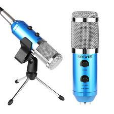 Neewer Blue NW-300E Professional USB Condenser Microphone Kit for Computer