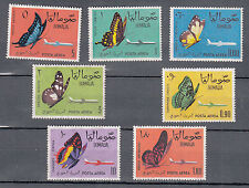SOMALIA INDIPENDENTE 1961 SERIE 7V. NUOVI MNH ** FARFALLE YVERT A 8-14 BUTTERFLY
