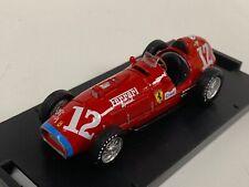 1/43 Brumm Ferrari 375 F1 Car #12 1952 Indianapolis GP Alberto Ascari R126  D205