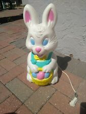 """19"""" Easter Bunny Blow Mold"""
