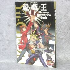 YU GI OH Yugiou w/Poster 10th Anniv Animation Book Art Fan SH24*