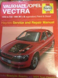 Vauxhall/Opel Vectra 1995-1999 Petrol And Diesel Haynes Workshop Manual