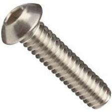 Stainless Steel Button Head Socket Cap Screw 10-24 x 1/2 - (100 each)