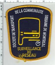 Urbaine de Montreal (Canada) Uniform Take-Off Shoulder Patch from Early 1980's
