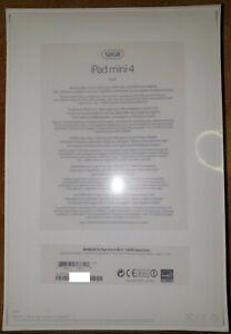Apple Ipad mini 4 Wifi 128GB Space Gray Model A1538 (MK9N2NF/A) NEUF SCELLE
