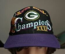 Vintage GREEN BAY PACKERS HAT - Super Bowl XXXI Champions Snapback NFL