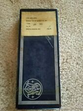S&W .38 Combat Masterpiece Model 15, 4 in, Vintage Blue Empty Factory Box
