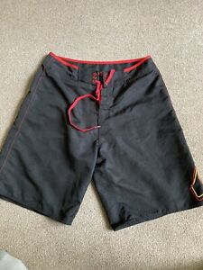Mens Size 34 Quicksilver Boxing Style Shorts