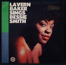 LA VERN BAKER-Sings Bessie Smith-Rare Promotional Album-ATLANTIC #7 90980-1 mono