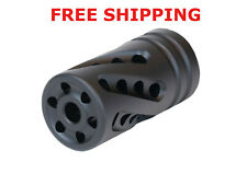 "Tactical Solutions XRing Performance Compensator for Ruger 10/22 1022 .920"" MBLK"
