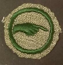 1933-1936 Girl Scout Badge PATHFINDER - GREY GREEN ROUND