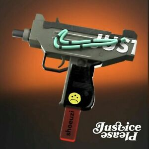 SHOEUZI Justice Please Limited Edition Collectible Art xxx/400 IN HAND FREE SHIP