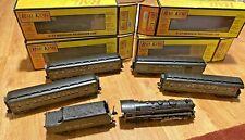 Railking O Gauge new york central 4-6-4 Steam Engine with 4 NIB Passenger Cars