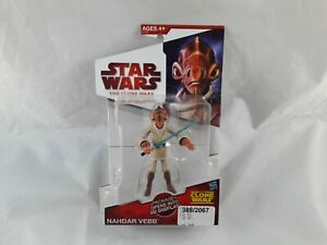 Star Wars Clone Wars Nahdar Vebb Action Figure