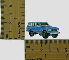 60 Series  Toyota Landcruiser Blue  Wagon  Lapel Pin / Badge