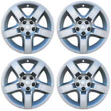 """Brand New Set of 4 17"""" Aftermarket Hubcaps for 2008-2012 Chevy Malibu"""