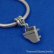 Silver GRAND PIANO Dangle Bead CHARM Music Composer fits EUROPEAN Bracelet
