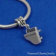 Silver GRAND PIANO Dangle Bead CHARM Music Composer fits EUROPEAN Bracelet