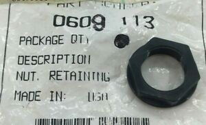 ARCTIC CAT 0609-113 SNOWMOBILE SWITCH RETAINING NUT FIT 90-94,97-06,08-11 MODELS