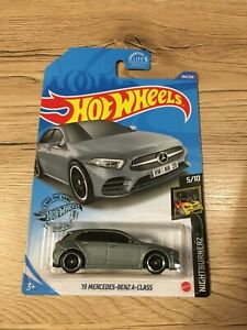HOT WHEELS long card ´19 Mercedes Benz A class grey grise