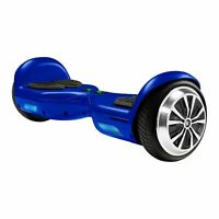 Swagtron Hoverboard Adults T881 Lithium-Free UL2272 Balance 250W Blue Open Box