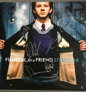 Funeral for a Friend Streetcar 7 inch Vinyl Signed by original members