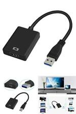 Adapter Cable USB 3.0 to HDMI 1080P External Video Converter For PC Windows OS