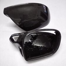 for Audi Q5 2008-2016 car mirror cover cap ABS + carbon fiber with Side Assist