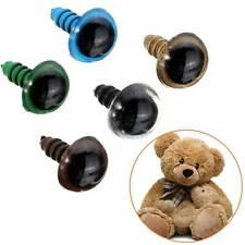 Plastic Safety Eyes for DIY Teddy Bear Stuffed Toy Snap Animal Puppet Doll Craft