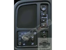 Left Dash Switches 4WD Bulb to White LED Upgrade Kit for GM Trucks SUV's 2003-06